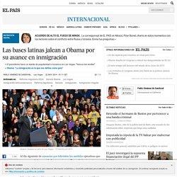 Las bases latinas jalean a Obama por su avance en inmigración