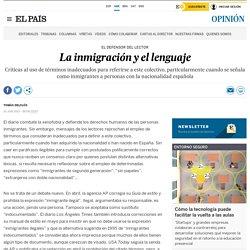 La inmigración y el lenguaje