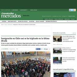 Inmigración en Chile casi se ha triplicado en la última década