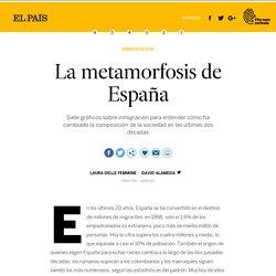 Inmigrantes: La metamorfosis de España