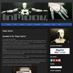 InMoov » Finger Starter Tutorial Step by Step