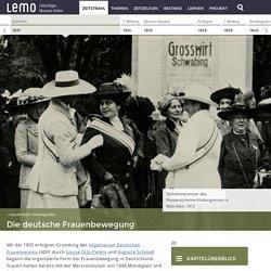 LeMOKapitel-Kaiserreich-Innenpolitik-Frauenbewegung