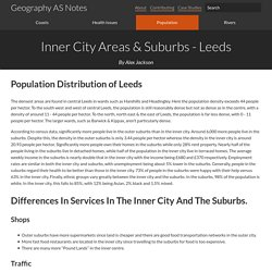 Inner City Areas & Suburbs - Leeds