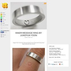 Inner Message Ring by Jungyun Yoon - StumbleUpon