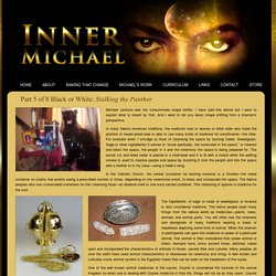 Inner Michael » Part 5 of 8 Black or White: Stalking the Panther