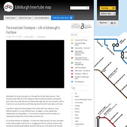 The Innertube timelapse - life in Edinburgh's fastlane | Edinburgh Innertube Map