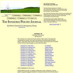 Innisfree Poetry Journal