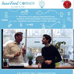 Inno'Food Corner - le goût de l'innovation