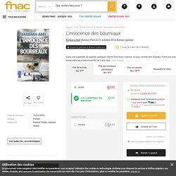 L'innocence des bourreaux - poche - Barbara Abel - Achat Livre - Achat & prix Fnac