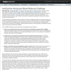 Introduces Novel Molecule Challenge | InnoCentive