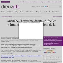 Autriche : l'extrême droite étudie les «innombrables» fraudes lors de la présidentielle