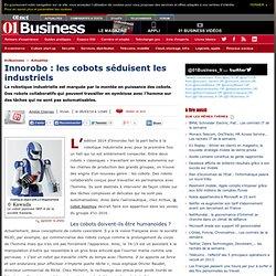Innorobo : les cobots séduisent les industriels