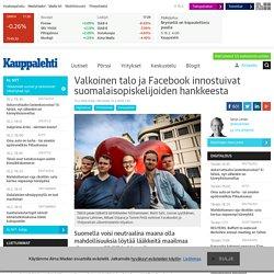 Valkoinen talo ja Facebook innostuivat suomalaisopiskelijoiden hankkeesta
