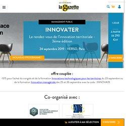 INNOVA'TER - La Gazette des communes 2019