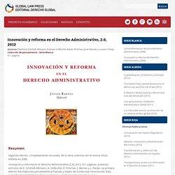 Innovación y reforma en el Derecho Administrativo, 2.0, 2012