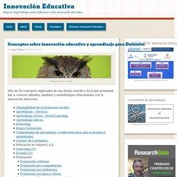 Conceptos sobre innovación educativa y aprendizaje para Dummies