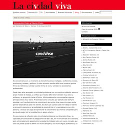 Innovación Cívica y Diseño Cívico