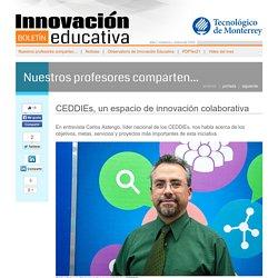 CEDDIEs, un espacio de innovación colaborativa