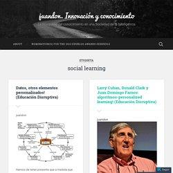 social learning – juandon. Innovación y conocimiento