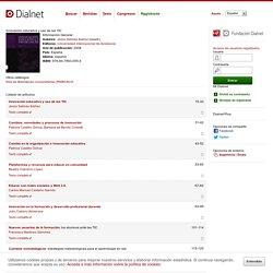 Innovación educativa y uso de las TIC - Dialnet