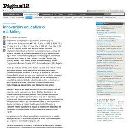 Innovación educativa o marketing