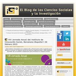 VIII Jornada Anual del Instituto de Innovación Social, Barcelona (España)