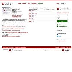 Revista DIM: Didáctica, Innovación y Multimedia
