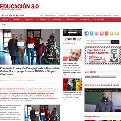 Premio de Innovación Pedagógica de la Universidad Carlos III a un proyecto sobre MOOCs y Flipped Classroom