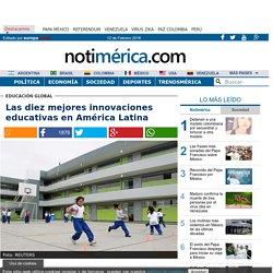 Las diez mejores innovaciones educativas en América Latina