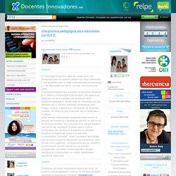 Docentes Innovadores Una práctica pedagógica para educandos con N.E.E.