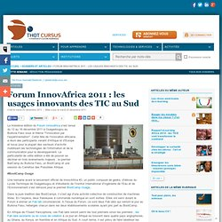 Forum InnovAfrica 2011 : les usages innovants des TIC au Sud