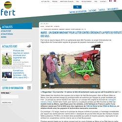 Maroc : Un semoir innovant pour lutter contre l'érosion et la perte de fertilité des sols