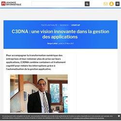 C3DNA : une vision innovante dans la gestion des applications