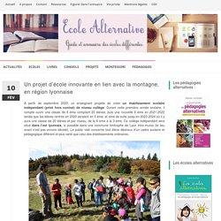 Un projet d'école innovante en lien avec la montagne, en région lyonnaise