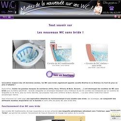 Les nouveaux WC sans bride : cuvettes innovantes, hygiéniques, design et pratiques !