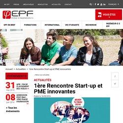 1ère Rencontre Start-up et PME innovantes