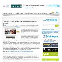 Outils innovants en expérimentation et gratuit