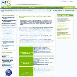 Des projets innovants pour promouvoir les droits des patients