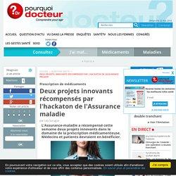 Deux projets innovants récompensés par l'hackaton de l'Assurance maladie