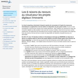 Les 6 raisons du recours au cloud pour les projets digitaux innovants (ZS1Cb29rcy1PUEU.1-Les 6 raisons du recours au cloud pour les projets digitaux innovants) - XWiki