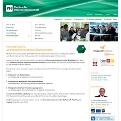 Innovate! austria. | PFI Platform for Innovation Management