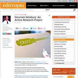 Innovate Salisbury: An Action Research Project
