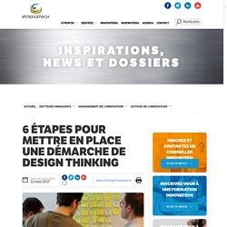 Innovatech - Mettre en place une démarche de design thinking