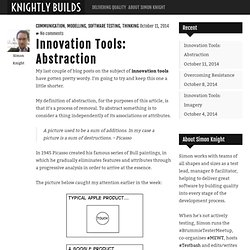 Innovation Tools: Abstraction