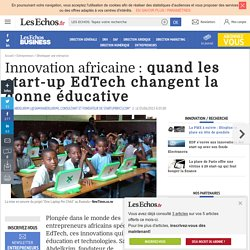 Innovation africaine : quand les start-up EdTech changent la donne éducative, Innovation / recherche