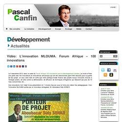 Vidéo: L'innovation MLOUMA. Forum Afrique – 100 innovations