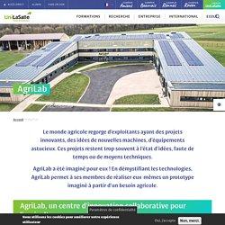 AgriLab, centre d'innovation ouverte et FabLab en agriculture