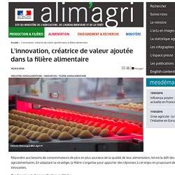 MAAF 14/03/16 L'innovation, créatrice de valeur ajoutée dans la filière alimentaire