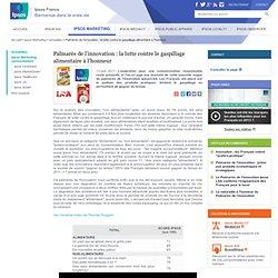 IPSOS 13/07/11 Palmarès de l'innovation : la lutte contre le gaspillage alimentaire à l'honneur