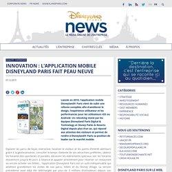 Innovation : l'application mobile Disneyland Paris fait peau neuve